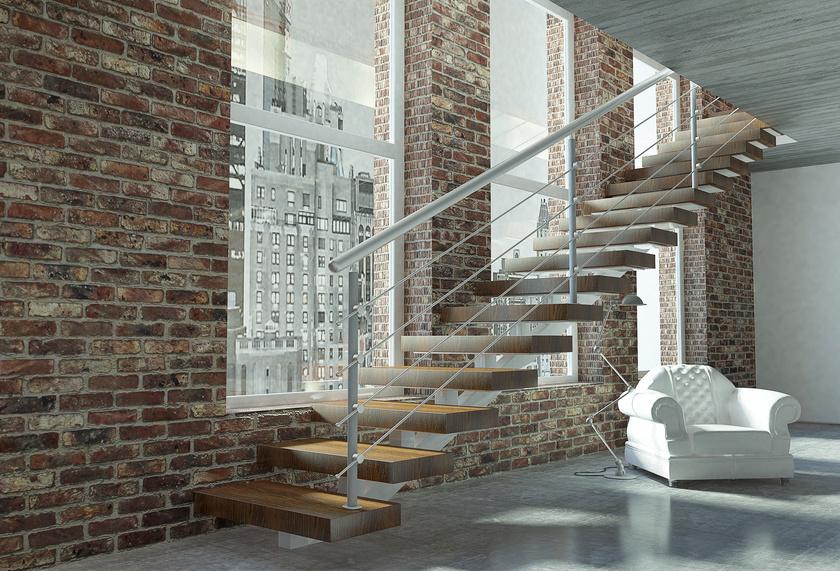 Wir bauen Treppen